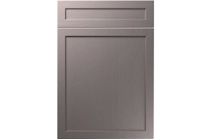 Unique Balmoral Painted Oak Dust Grey kitchen door