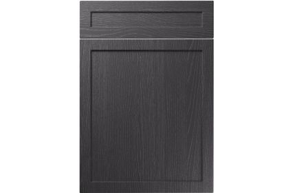 Unique Balmoral Painted Oak Graphite kitchen door
