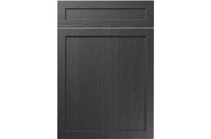 Unique Balmoral Painted Oak Graphite kitchen door