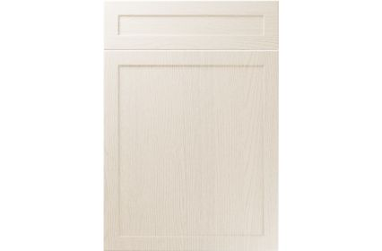 Unique Balmoral Painted Oak Ivory kitchen door