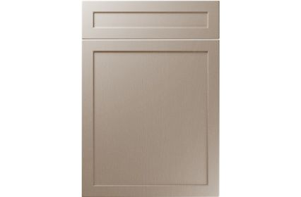 Unique Balmoral Painted Oak Stone Grey kitchen door