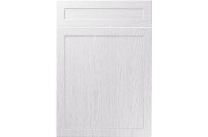 Unique Balmoral Painted Oak White kitchen door