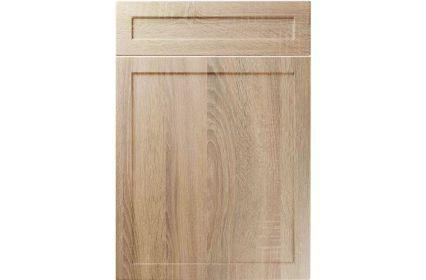 Unique Balmoral Sonoma Oak kitchen door