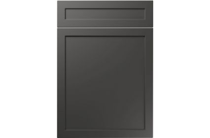 Unique Balmoral Super Matt Graphite kitchen door