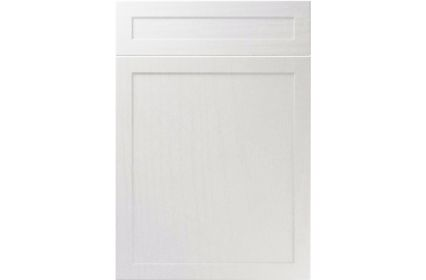 Unique Balmoral Super White Ash kitchen door