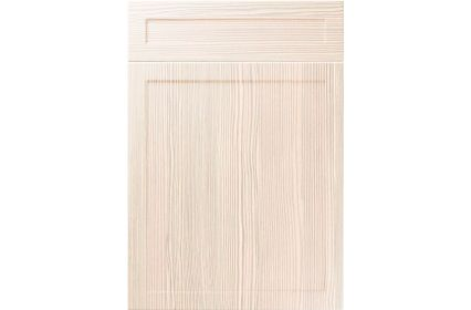 Unique Balmoral White Avola kitchen door