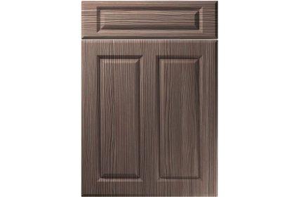 Unique Benwick Brown Grey Avola kitchen door