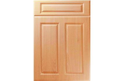 Unique Benwick Ellmau Beech kitchen door