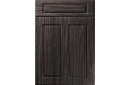Unique Benwick Hacienda Black kitchen door