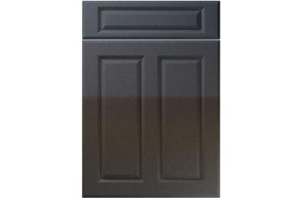 Unique Benwick High Gloss Anthracite Sparkle kitchen door