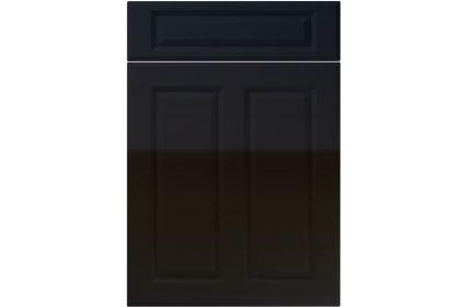 Unique Benwick High Gloss Black kitchen door
