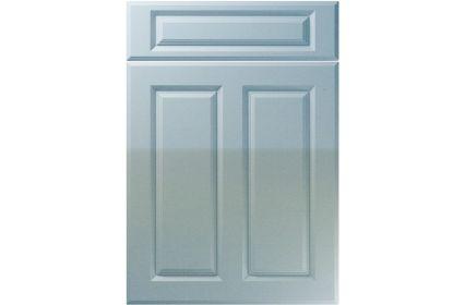 Unique Benwick High Gloss Blue Sparkle kitchen door