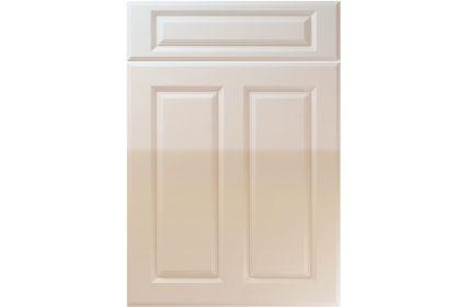 Unique Benwick High Gloss Cashmere kitchen door