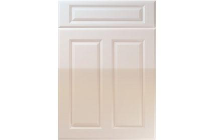 Unique Benwick High Gloss Cream kitchen door