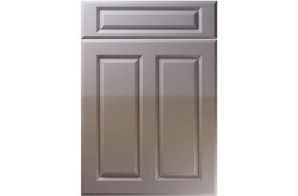 Unique Benwick High Gloss Dust Grey kitchen door