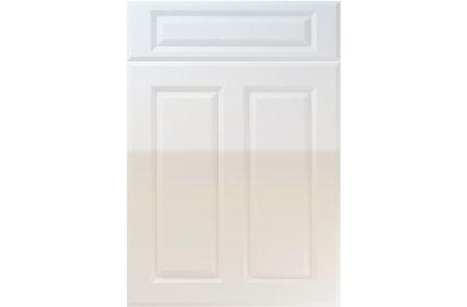 Unique Benwick High Gloss Grey kitchen door