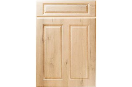 Unique Benwick Iconic Beech kitchen door