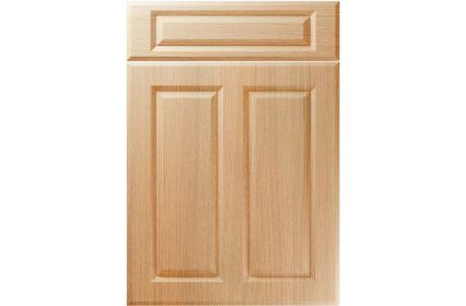 Unique Benwick Light Ferrara Oak kitchen door