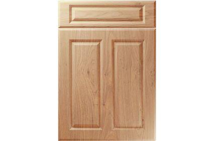 Unique Benwick Light Winchester Oak kitchen door