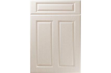 Unique Benwick Painted Oak Cashmere kitchen door