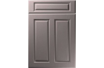 Unique Benwick Painted Oak Dust Grey kitchen door