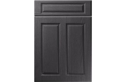 Unique Benwick Painted Oak Graphite kitchen door