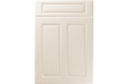 Unique Benwick Painted Oak Ivory kitchen door
