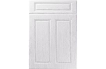 Unique Benwick Painted Oak White kitchen door