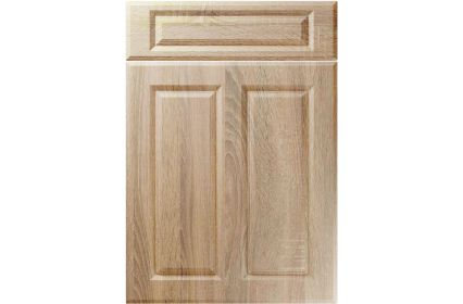 Unique Benwick Sonoma Oak kitchen door