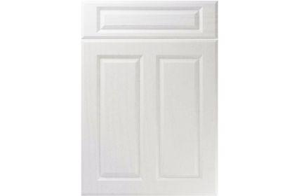 Unique Benwick Super White Ash kitchen door