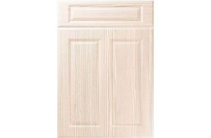 Unique Benwick White Avola kitchen door