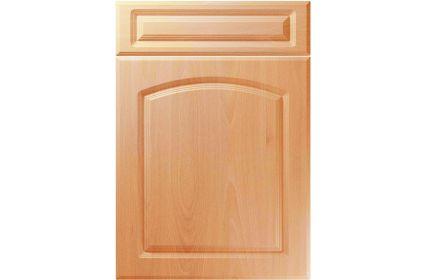 Unique Boston Ellmau Beech kitchen door