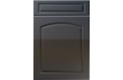 Unique Boston High Gloss Anthracite Sparkle kitchen door