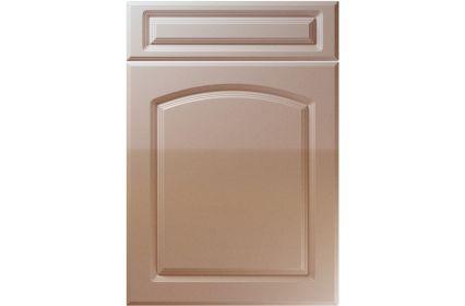 Unique Boston High Gloss Cappuccino kitchen door