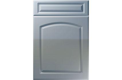 Unique Boston High Gloss Denim kitchen door