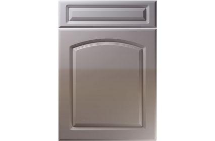 Unique Boston High Gloss Dust Grey kitchen door