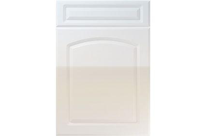 Unique Boston High Gloss Grey kitchen door