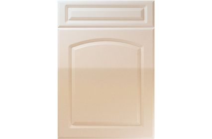 Unique Boston High Gloss Sand Beige kitchen door