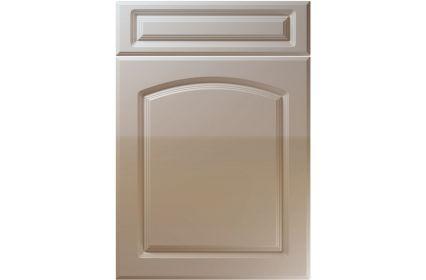 Unique Boston High Gloss Stone Grey kitchen door