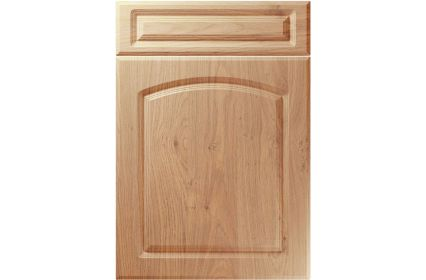Unique Boston Light Winchester Oak kitchen door