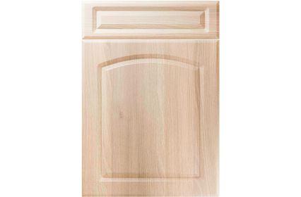 Unique Boston Moldau Acacia kitchen door