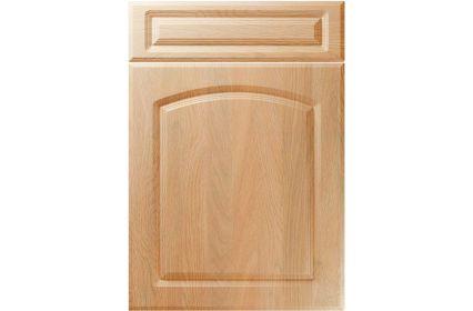 Unique Boston Montana Oak kitchen door