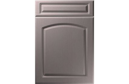 Unique Boston Painted Oak Dust Grey kitchen door