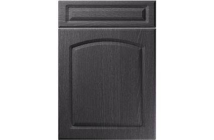 Unique Boston Painted Oak Graphite kitchen door