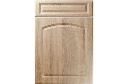 Unique Boston Sonoma Oak kitchen door