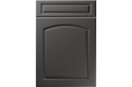 Unique Boston Super Matt Graphite kitchen door