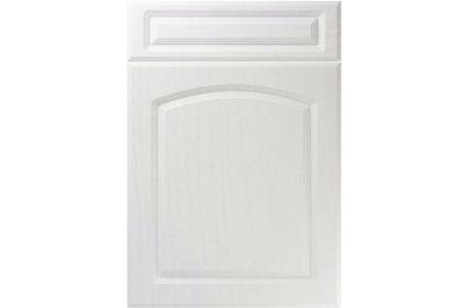 Unique Boston Super White Ash kitchen door