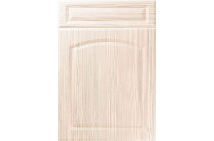 Unique Boston White Avola kitchen door