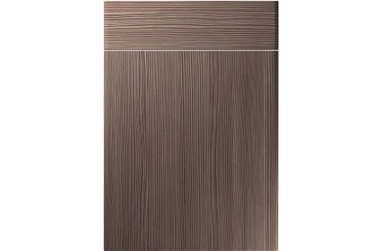 Unique Brecon Brown Grey Avola kitchen door
