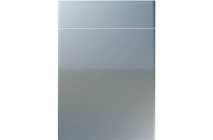 Unique Brecon High Gloss Denim kitchen door